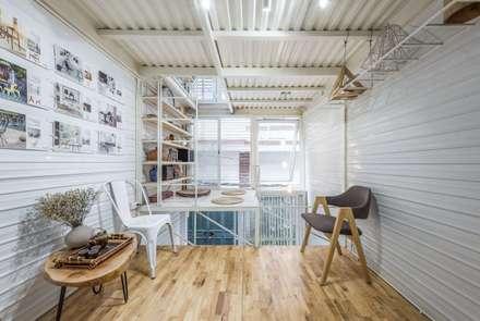 minimalistic Media room by SMA Studio