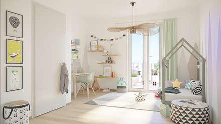Fünf Wohlfühlfaktoren In Den Greenside Apartments:: Moderne Kinderzimmer  Von JLL Residential Development