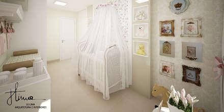 Cuarto del bebé de estilo  por Ju Lima Arquitetura e Interiores