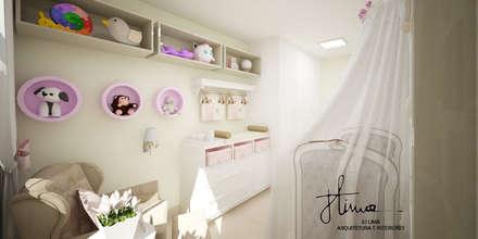 غرف الرضع تنفيذ Ju Lima Arquitetura e Interiores
