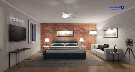 Bedroom in Loft style: minimalistic Bedroom by 'Design studio S-8'
