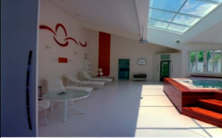 蒸氣浴 by AM arquitetura e interiores