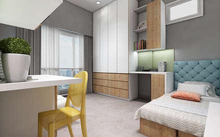 Kids Bedroom: Girls Bedroom By Neelanjan Gupto Design Co