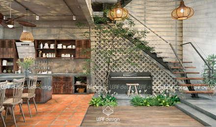 مطبخ تنفيذ LEAF Design