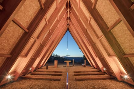Gable roof by Plano Humano Arquitectos