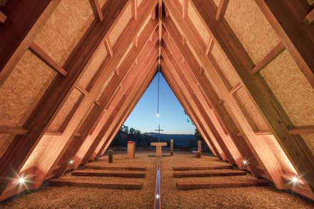 Двускатные крыши в . Автор – Plano Humano Arquitectos