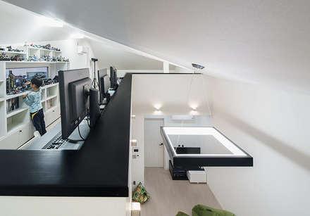 Moderne Wohnzimmer Von 적정건축