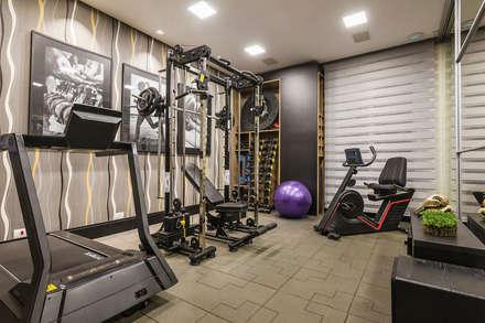 modern Gym by TRÍADE ARQUITETURA