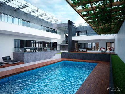 Garden Pool by Grupo ARK