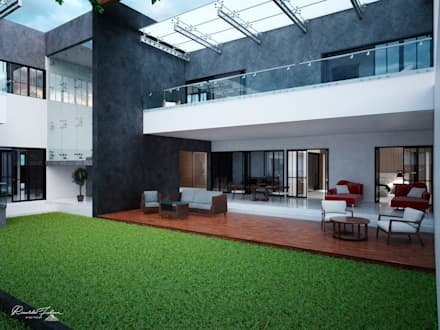 Front yard by Grupo ARK