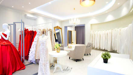Yunita Lim Couture - Consultation Area:  Commercial Spaces by studioalo