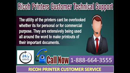 Ricoh Printer not working at all? Dial 1-888-664-3555 our Ricoh Printer Technical Help Phone Number: Sedi per eventi in stile  di RicohPrinterCustomerhelpService
