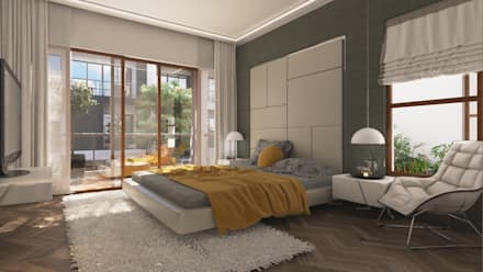 modern Bedroom by NVT Quality Build solution
