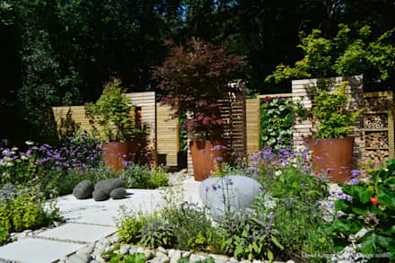 The Eco Garden Finished: modern Garden by David Keegan garden Design & Landscape Consultancy