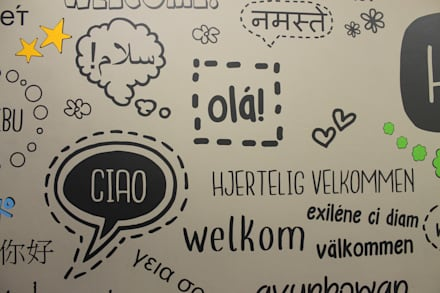 """Wandtattoo """"Hallo"""" Detail:  Hotels von Smallgarden Design"""