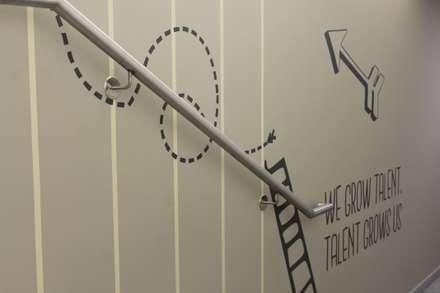 Wandtattoo Talente & Beförderungen:  Hotels von Smallgarden Design