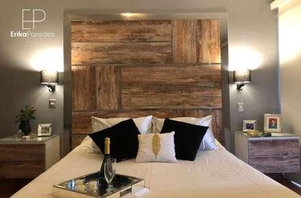 rustic Bedroom by EPG  Studio