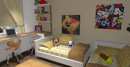 Dormitorio : Dormitorios infantiles de estilo moderno de proyectoszeza