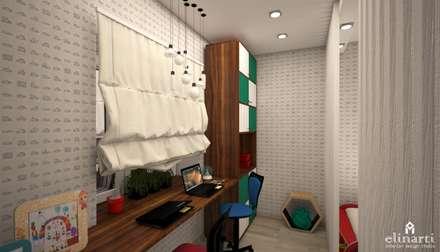 غرفة نوم مراهقين  تنفيذ Студия дизайна Elinarti