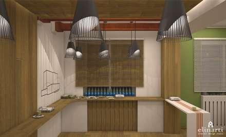 Проект кафе при клинико-диагностическом центре: Ресторации в . Автор – Студия дизайна Elinarti