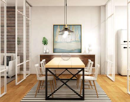 mediterranean Dining room by Klausroom