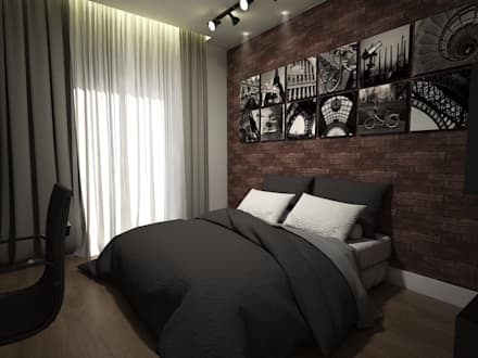 غرفة نوم أولاد تنفيذ Laís Galvez Arquitetura e Interiores