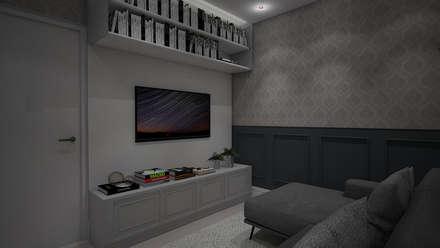 Electrónica de estilo  por Laís Galvez Arquitetura e Interiores