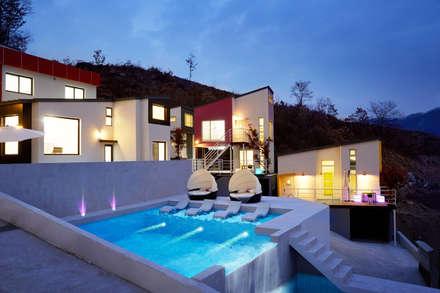 The Secret Pool Villa Resort 북한강(가평) Type Day Dream②: IAMDESIGN.의  호텔