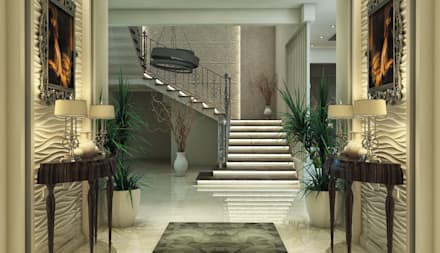 :  Stairs by بازار للتصميم الداخلي