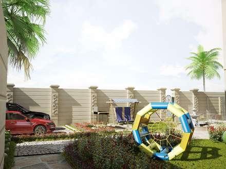 :  Villas by بازار للتصميم الداخلي