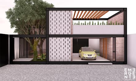 Detached home by EMERGENTE | Arquitectura