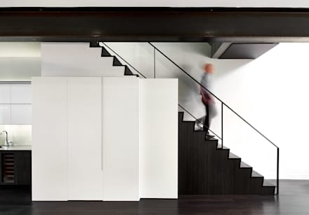 Corcoran House:  Stairs by KUBE Architecture