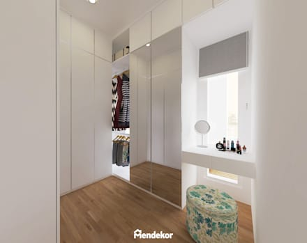 Walk In Closet:  Ruang Ganti by Mendekor