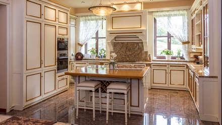 مطبخ ذو قطع مدمجة تنفيذ GD Arredamenti