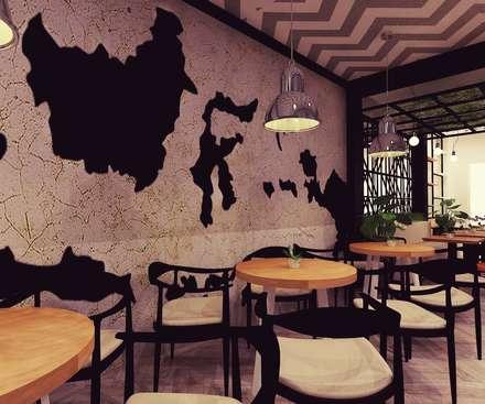 Secret Kopitiam:  Restoran by samma design