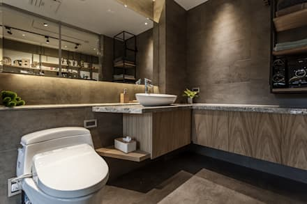 modern Bathroom by 漢玥室內設計
