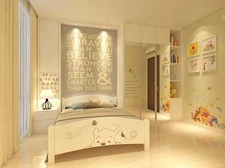 modern Nursery/kid's room by PT. Dekorasi Hunian Indonesia (D&H Interior)
