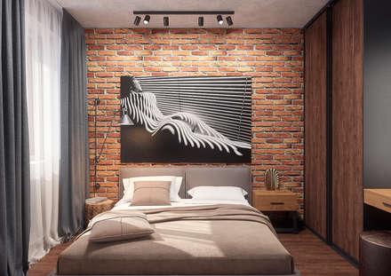 Апартаменты в ЖК Арбатский: Спальни в . Автор – Дизайн Студия 33