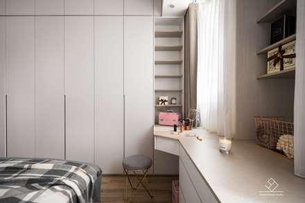 غرفة الملابس تنفيذ 極簡室內設計
