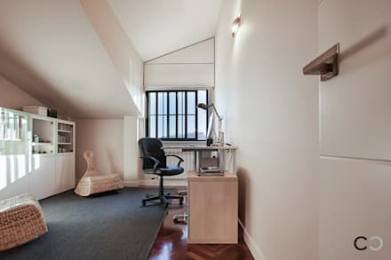 despacho estudios y despachos de estilo moderno de ccvo design and staging - Decoracion Despachos