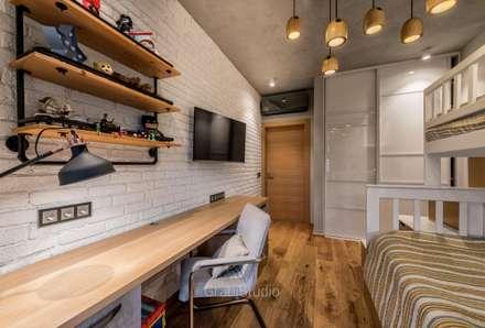 Dormitorios infantiles de estilo  por GraniStudio