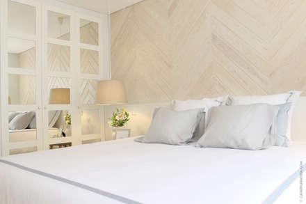 HOUSE LIBERDADE: Quartos escandinavos por Catarina Batista Studio