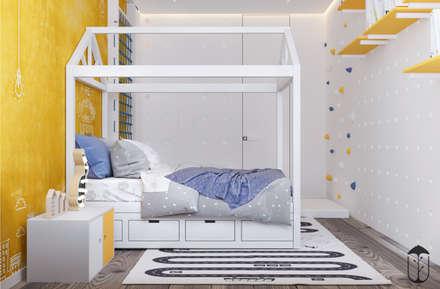 غرفة نوم مراهقين  تنفيذ U-Style design studio