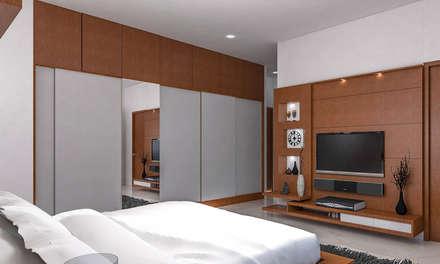 moderne Schlafzimmer von ergate