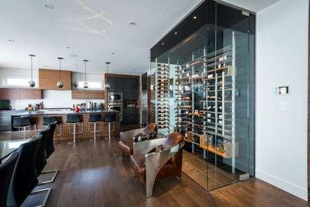 moderne Wijnkelder door Millesime Wine Racks
