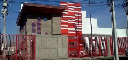 Oficinas, Frigorífico y Bodegas Koriwasi (Sabor Peruano): Bodegas de estilo  por Incubar: Arquitectura, Gestión y Construcción