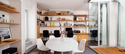 Phòng học/Văn phòng by manuarino architettura design comunicazione
