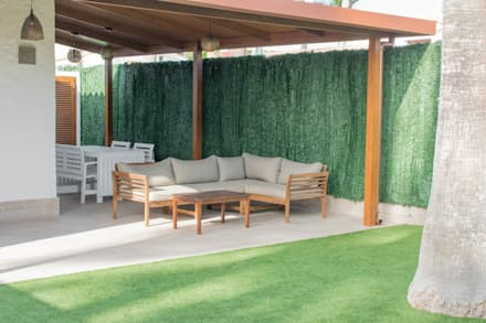 Casa II: Jardines de estilo clásico de Marisol Manrique de Lara