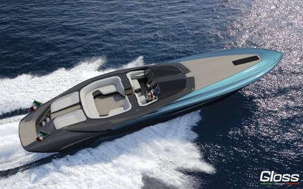 YACHTS: Yacht & Jet in stile in stile Moderno di Gloss Design