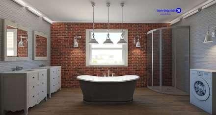 Bathroom in Loft Style: industrial Bathroom by 'Design studio S-8'